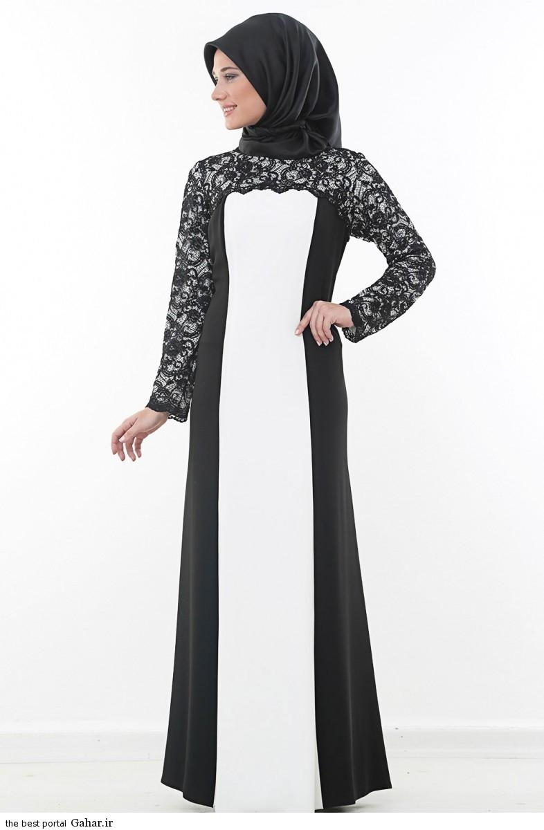 hijab formal dressww abartazeha ir 204 عکس هایی از مدل لباس مجلسی زنانه با حجاب