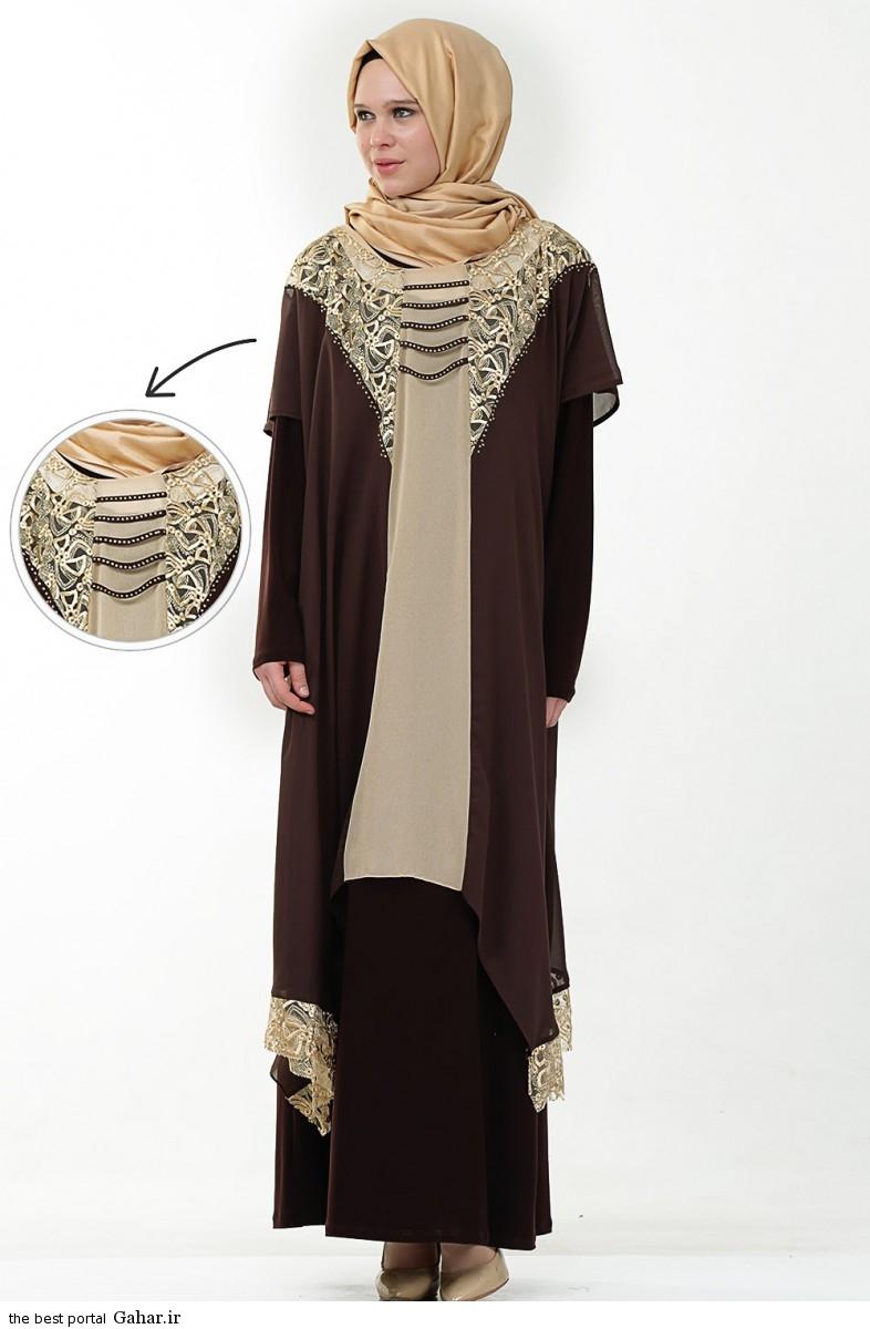 hijab formal dressww abartazeha ir 206 عکس هایی از مدل لباس مجلسی زنانه با حجاب