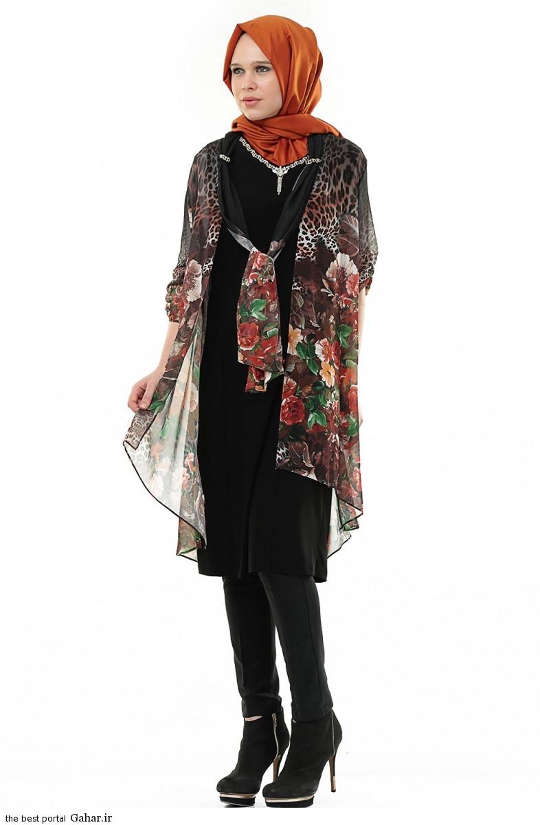 hijab formal dressww abartazeha ir 207 عکس هایی از مدل لباس مجلسی زنانه با حجاب