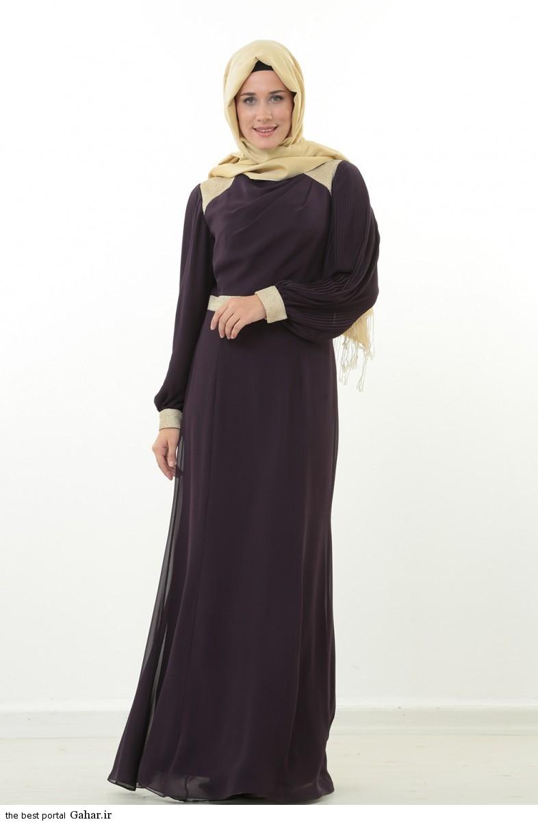 hijab formal dressww abartazeha ir 208 عکس هایی از مدل لباس مجلسی زنانه با حجاب