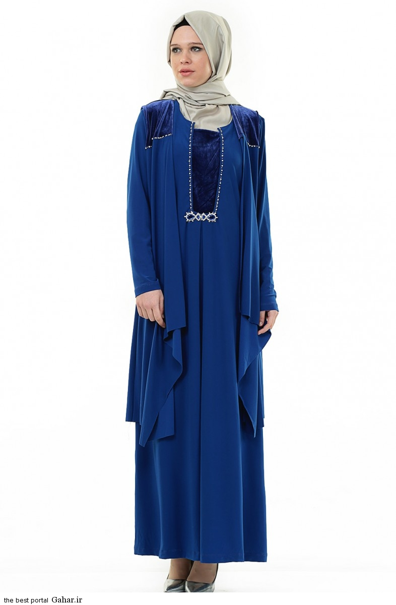 hijab formal dressww abartazeha ir 210 عکس هایی از مدل لباس مجلسی زنانه با حجاب