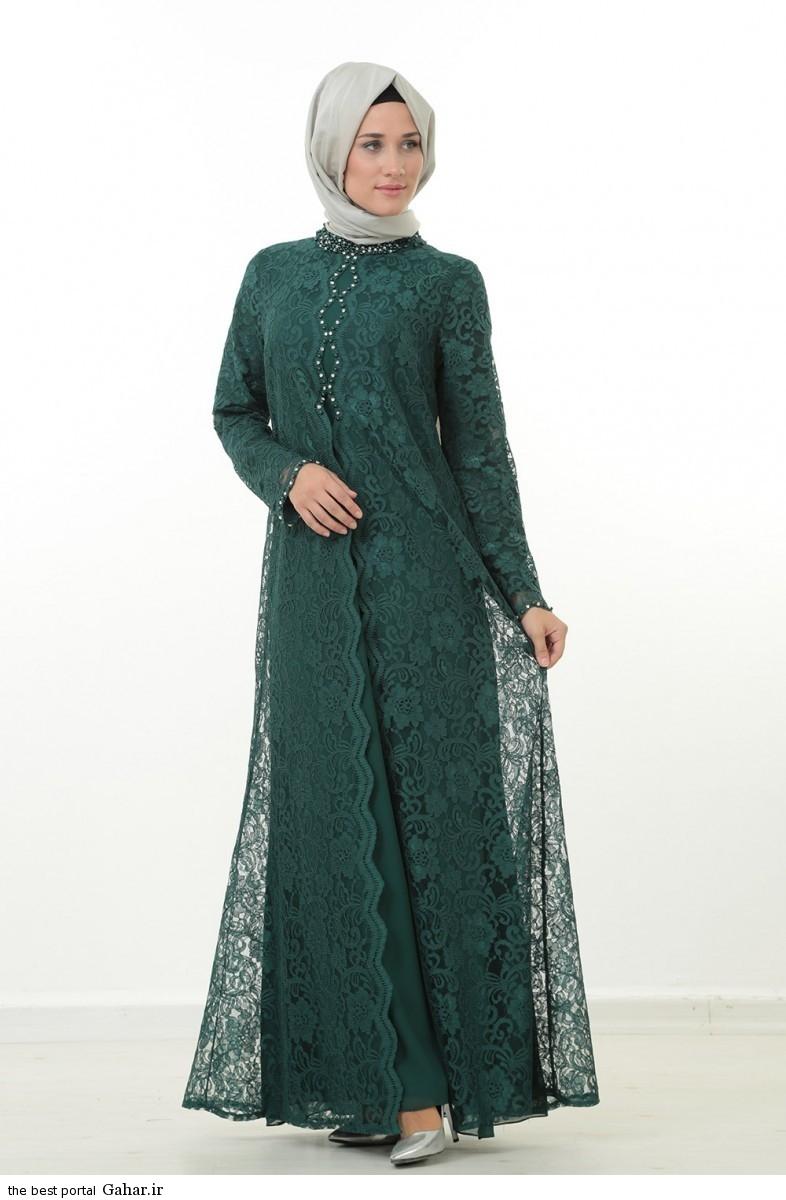 hijab formal dressww abartazeha ir 211 عکس هایی از مدل لباس مجلسی زنانه با حجاب