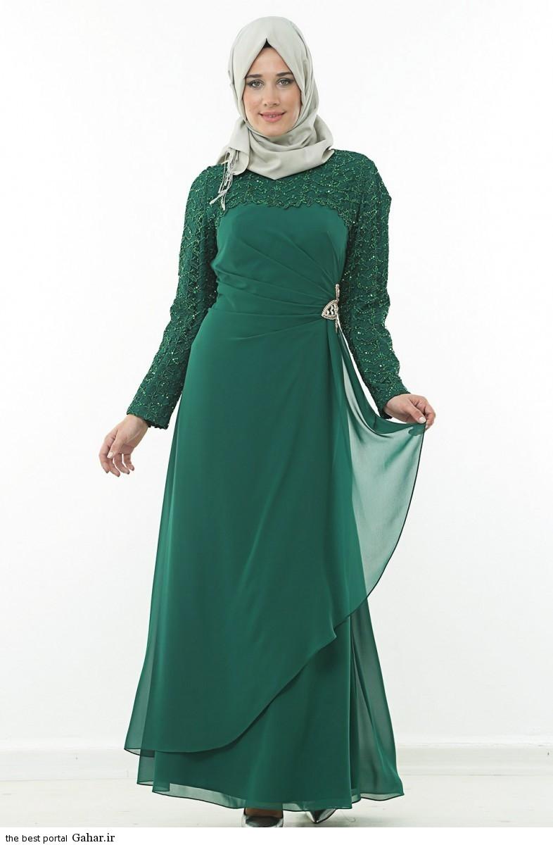 hijab formal dressww abartazeha ir 213 عکس هایی از مدل لباس مجلسی زنانه با حجاب