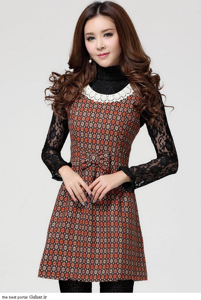 pinafores suit Korean www abartazeha ir 303 مدلهایی جدید از زیباترین مدل کت و دامن و سارافن دخترانه