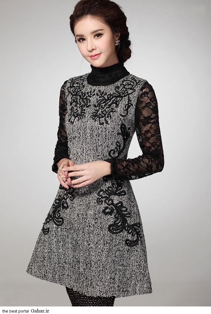 pinafores suit Korean www abartazeha ir 306 مدلهایی جدید از زیباترین مدل کت و دامن و سارافن دخترانه