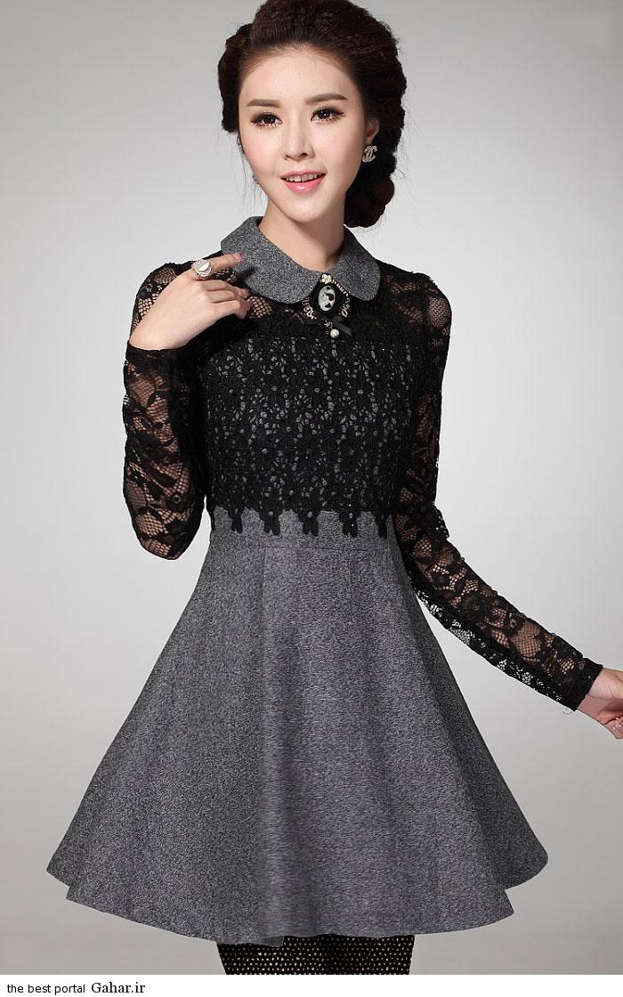 pinafores suit Korean www abartazeha ir 307 مدلهایی جدید از زیباترین مدل کت و دامن و سارافن دخترانه