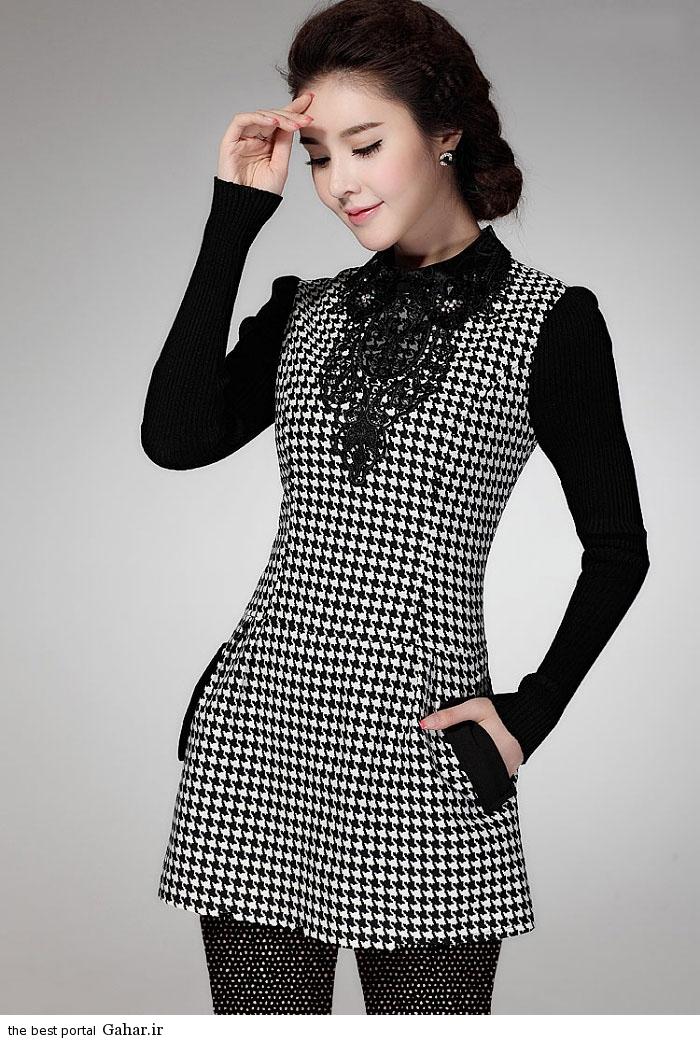 pinafores suit Korean www abartazeha ir 308 مدلهایی جدید از زیباترین مدل کت و دامن و سارافن دخترانه