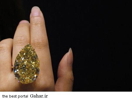 0.262497001318455454 irannaz com انگشتر الماس زرد ویژه خانمها
