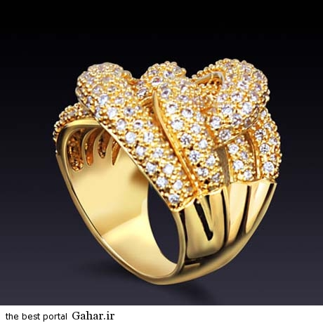 1027324077 parsnaz ir عکس هایی زیبا از مدل های انگشترهای جواهر 2015