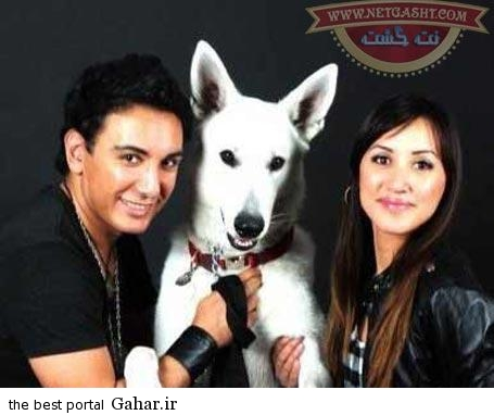 21kh913 عکسهای شادمهر عقیلی با همسر و دخترش در جشن هالووین