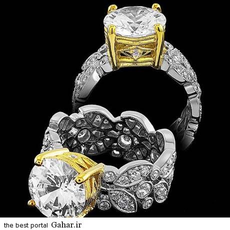 229158259 parsnaz ir عکس هایی زیبا از مدل های انگشترهای جواهر 2015