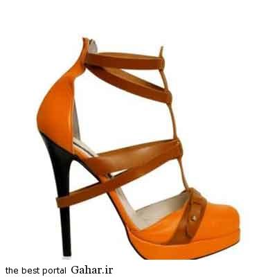 88accc6eba عکس هایی از مدل کفش پاشنه دار و لژ دار زنانه