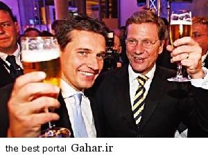 L128491118030 عکس های مراسم ازدواج وزیر خارجه آلمان با همجنس اش!