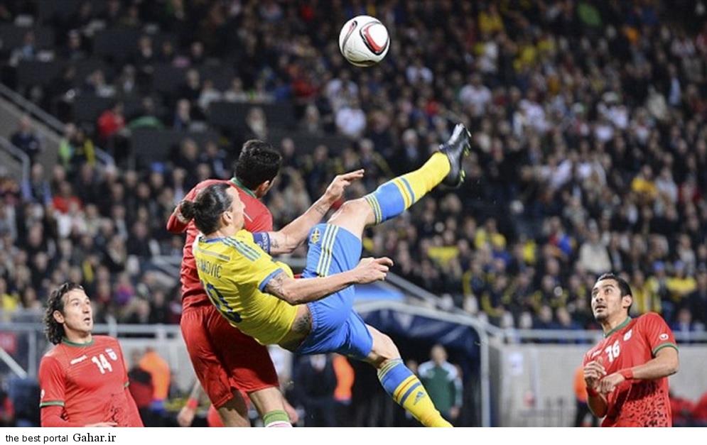 sweden vs iran ando and ghochannejad شکست بازیکنان تیم ملی ایران مقابل سوئد