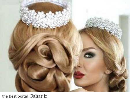 1 عکس های زیبا از جدیدترین مدل مو و آرایش عروس