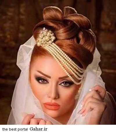 10 عکس های زیبا از جدیدترین مدل مو و آرایش عروس