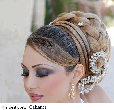 2 عکس های زیبا از جدیدترین مدل مو و آرایش عروس