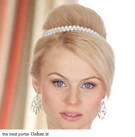 5 عکس های زیبا از جدیدترین مدل مو و آرایش عروس