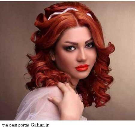 8 عکس های زیبا از جدیدترین مدل مو و آرایش عروس