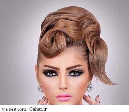 9 1 عکس های زیبا از جدیدترین مدل مو و آرایش عروس