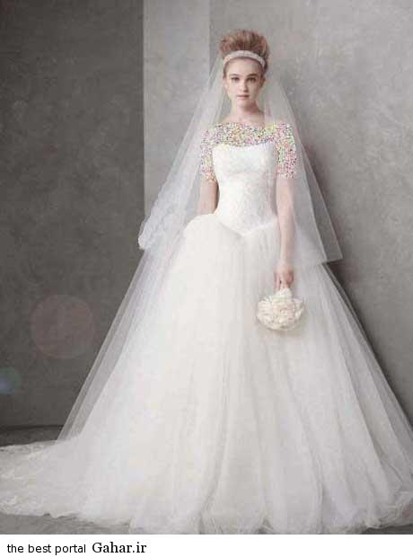 8 10 جدیدترین مدل های لباس عروس بهار 2015