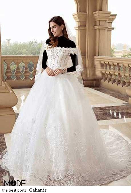 8 32 جدیدترین مدل های لباس عروس بهار 2015