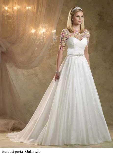 8 42 جدیدترین مدل های لباس عروس بهار 2015