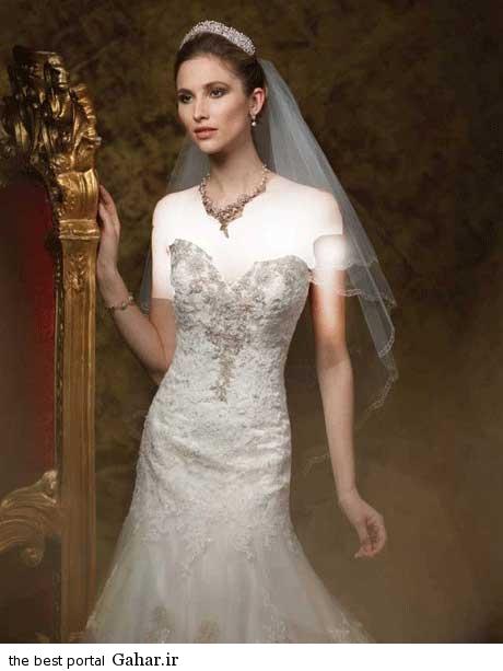 8 62 جدیدترین مدل های لباس عروس بهار 2015