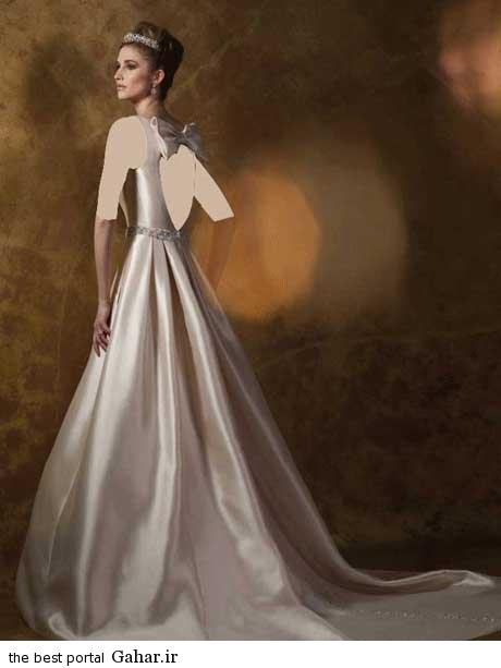 8 72 جدیدترین مدل های لباس عروس بهار 2015