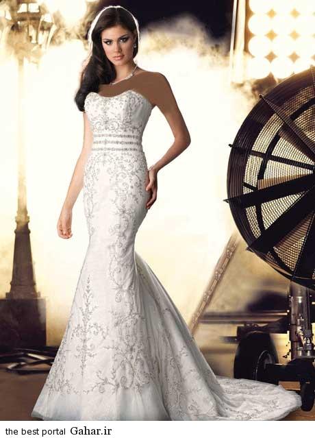 8 8 جدیدترین مدل های لباس عروس بهار 2015