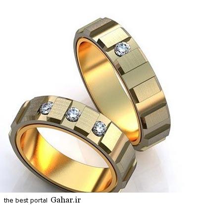 8 88 جدیدترین مدل های حلقه عروس و داماد 2015