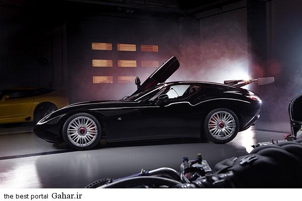 Maserati Mostro 1 تصاویر و اطلاعات جدید از ماشین زاگاتو مازراتی موسترو