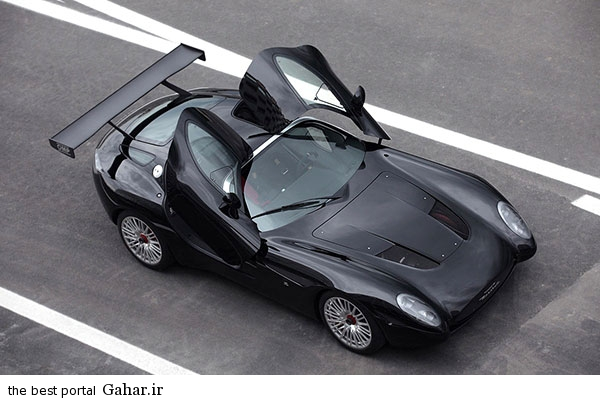 Maserati Mostro 13 تصاویر و اطلاعات جدید از ماشین زاگاتو مازراتی موسترو