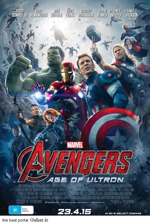 avengers age of ultron poster25 نقد و بررسی کامل فیلم Avengers: Age of Ultron 2015