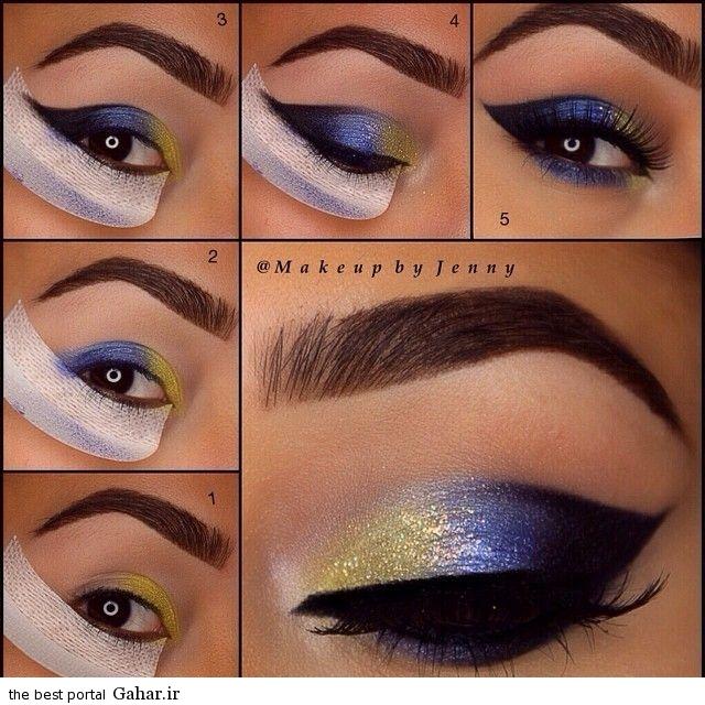 قهوه ای آموزش آرایش چشم مخصوص چشم های قهوه ای