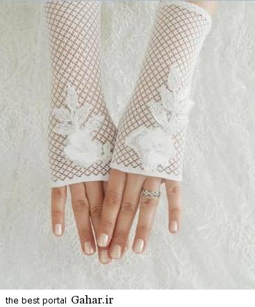 10 1 جدیدترین مدل های دستکش عروس 2015