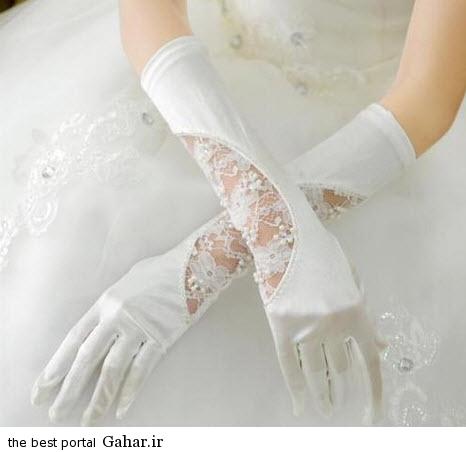 10 10 جدیدترین مدل های دستکش عروس 2015