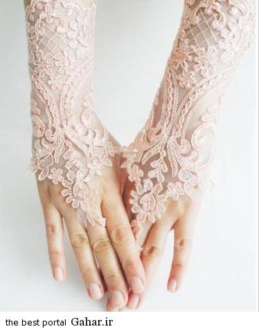 10 11 جدیدترین مدل های دستکش عروس 2015