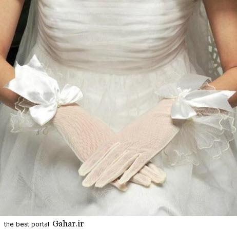 10 12 جدیدترین مدل های دستکش عروس 2015
