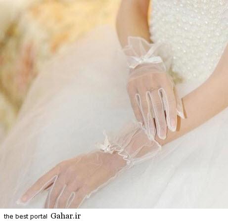 10 2 جدیدترین مدل های دستکش عروس 2015