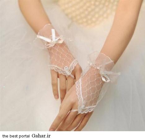 10 3 جدیدترین مدل های دستکش عروس 2015