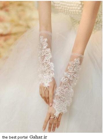 10 4 جدیدترین مدل های دستکش عروس 2015