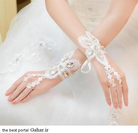 10 5 جدیدترین مدل های دستکش عروس 2015