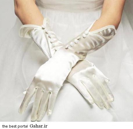 10 6 جدیدترین مدل های دستکش عروس 2015