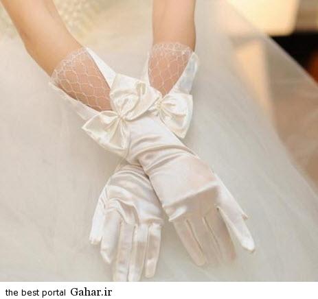 10 8 جدیدترین مدل های دستکش عروس 2015