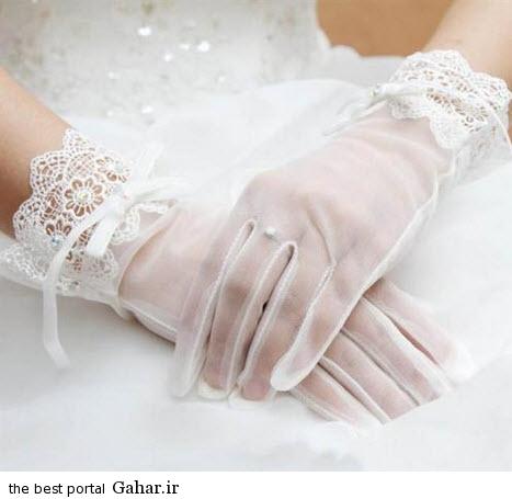 10 9 جدیدترین مدل های دستکش عروس 2015