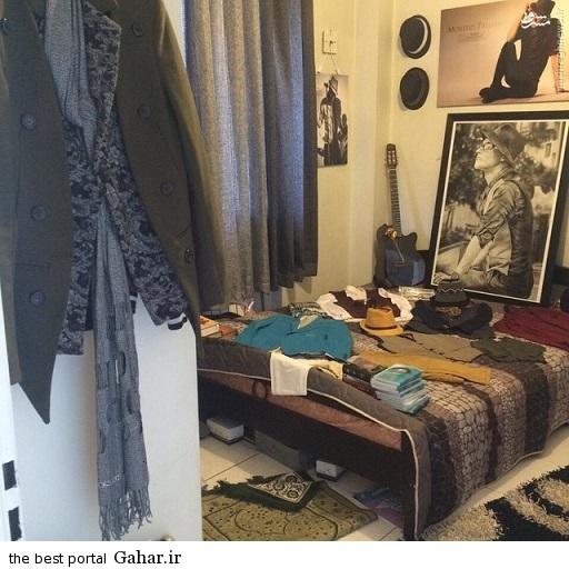 1099116 441 عکس های اتاق مرتضی پاشایی و یادگاری های او