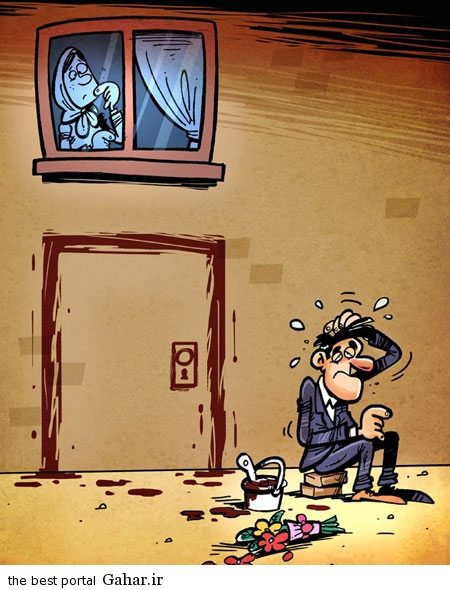 2bd600dcd2 زندگی مجردی دختران و پسران / کاریکاتور