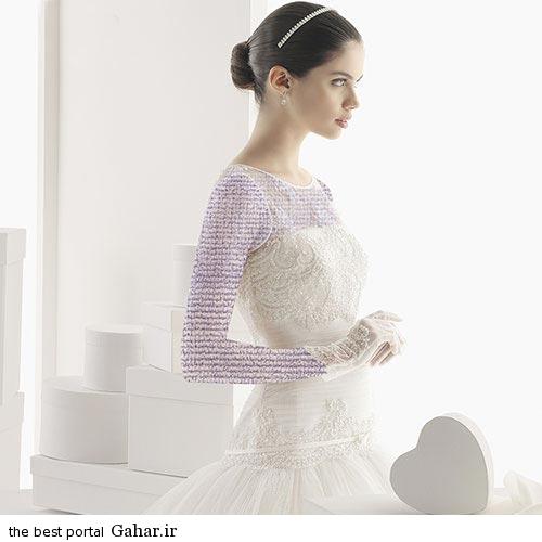 7 1 جدیدترین مدل های لباس عروس ساده 2015