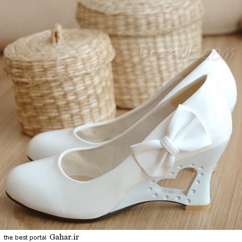 7 13 مدلهای جدید کفش عروس 2015